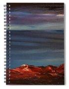 Winter Glow                        73 Spiral Notebook