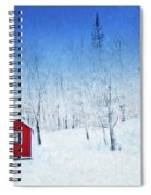 Winter Haven Spiral Notebook