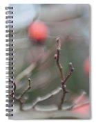 Winter Hawthorn Spiral Notebook