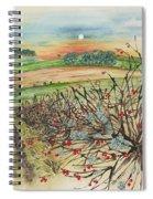 Winter Hedgerow Spiral Notebook