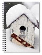 Winter Home Spiral Notebook