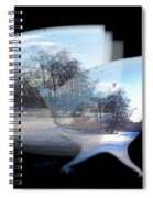 Winter Ice Spiral Notebook