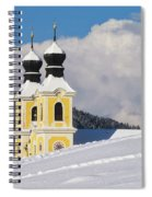 Winter Illusion Spiral Notebook