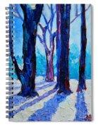 Winter Impression Spiral Notebook