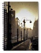 Winter In Amsterdam-2 Spiral Notebook