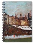 Winter In Buffalo Spiral Notebook