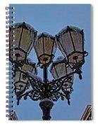 Winter In Gouda-1 Spiral Notebook