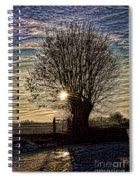 Winter In Holland 3 Spiral Notebook