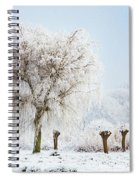 Winter In Holland Spiral Notebook