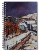 Winter In Luxembourg Spiral Notebook