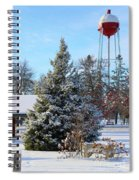 Winter In Pequot Lakes Spiral Notebook