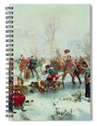 Winter In Saint James's Park Spiral Notebook