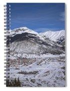 Winter In Silverton Colorado Spiral Notebook