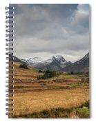 Winter In Snowdonia Spiral Notebook