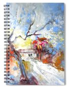 Winter In Spain Spiral Notebook
