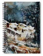 Winter In Vivy  Spiral Notebook