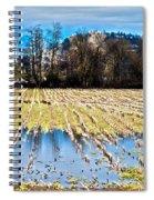 Winter In Washington Fields Spiral Notebook