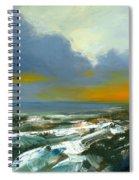 Winter Lake View Spiral Notebook