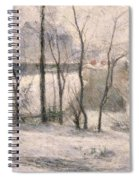Winter Landscape Spiral Notebook