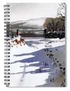 Winter Lane Sowood Spiral Notebook