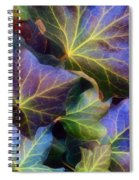 Winter Leaves Spiral Notebook