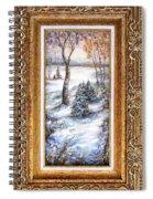 Winter. Spiral Notebook