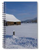 Winter Meadow Spiral Notebook