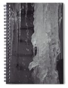 Winter Memories-ice Spiral Notebook