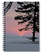 Winter Morning Spiral Notebook