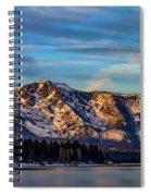 Winter Morning South Lake Tahoe Spiral Notebook