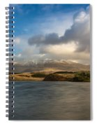 Winter Mountains Spiral Notebook