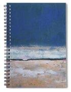Winter Night Prairie Spiral Notebook