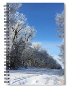 Winter On 210th St. Spiral Notebook