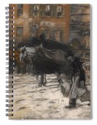 Winter On 21st Street - New York Spiral Notebook