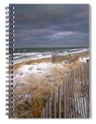 Winter On Cape Cod Spiral Notebook