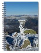 Winter On Lafayette Spiral Notebook