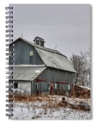 Winter On The Farm 2 Spiral Notebook