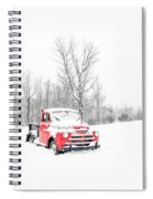 Winter On The Farm Etna New Hampshire Spiral Notebook