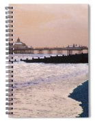 Winter Pier Spiral Notebook