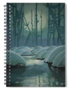 Winter Quiet Spiral Notebook