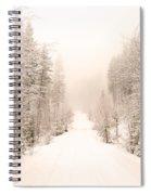 Winter Quiet Spiral Notebook