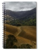 Winter Rain November 09 Spiral Notebook