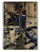 Winter Rains Series One Of Six Spiral Notebook