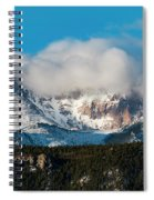 Winter Receding On Pikes Peak Spiral Notebook