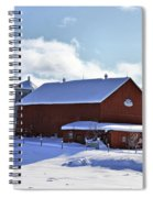 Winter Red 2010 Spiral Notebook