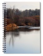 Winter Riverbank Spiral Notebook