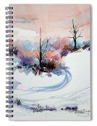Winter Scene 2 Spiral Notebook