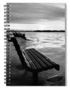 Winter Scene  Spiral Notebook