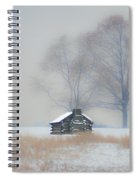 Winter Scene - Valley Forge Spiral Notebook