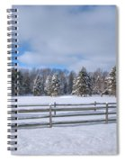 Winter Scenery 14589 Spiral Notebook